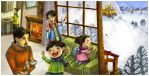 Snow outside by dothaithanh