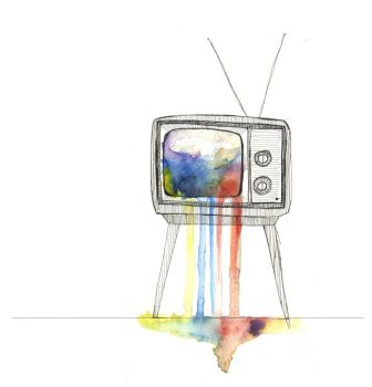 Color TV by axellie