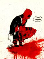 Deadpool Likes Blood Too! by sirusianne