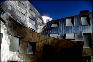 Abstract Exterior - Gehry VII by krasblak