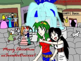 X-mas gift for xxInvaderDanixx by Linkfan007