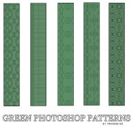Green PS Patterns by AlenaJay