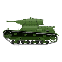Pixel Light Tank by wcdiver