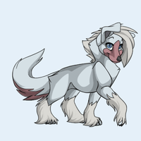 Snow Pup by Deathkidsouleater94