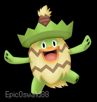 Lineless Ludicolo by LudiculousPegasus