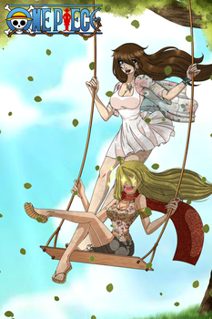 [ONE PIECE OC/COLLAB] Swing Collab ~ by RosiieChan