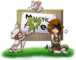 Mystic Acres Bulletin Board by TheMidnightMage