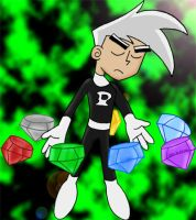 Danny uses the chaos emeralds by spongefox
