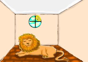 Lion room by Sentimentetrange