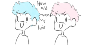 My Dream Hair by MeowTownPolice