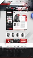 prestige tyre and auto - shop design by webdesigner1921