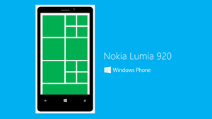 Powerpoint Art - Lumia 920 (White) by moozdeviant