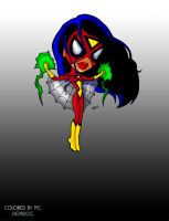 BURGOS' BRATZ SPIDEY by DeadDog2007