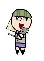 Chiya Flower loves Cats. by Siontix