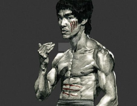 Bruce Lee-3 by kse332