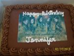 Black Veil Brides Cake by A7XFan666