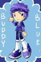 Buddy Blue by Loverofpiggies