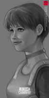 Resident Evil: Rebecca Chambers by yachter