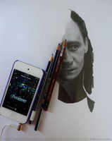 Loki Drawing (WIP#1) by Bubblegum-Jellybean