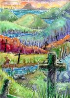 ACEO #358 River graves by Beast91
