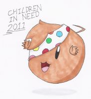 Children in Need 2011 by animeandrew1