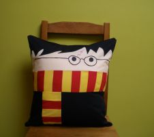 Potter pillow by wdkimmy