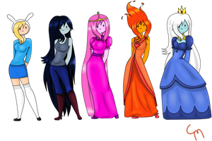 Human, Princess, Queen. by LadyKitt