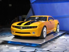 Chevrolet Camaro Bumblebee by Big-D-pictures