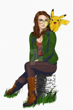 Portraitwithpikachu2 by russianspy24