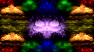 Demons In The Clouds With Vibrance FIlter by PlanetaryPenguin