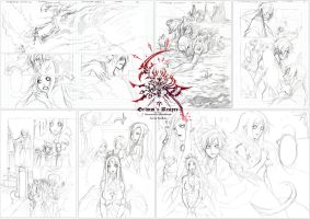+ NeverenD issue 2: sketching preview + by VanRah