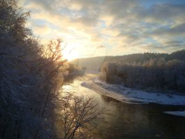 Winter in Latvia by indrucis