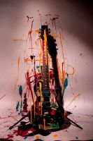 Paint My Guitar by VincentLillis