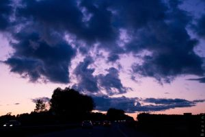 the sky in Lithuania by DashaBezina