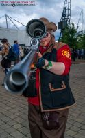 24th May MCM LON Team Fortress 2 RED Sniper 1 by TPJerematic