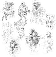 More sketches by mishinsilo