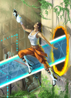 Flying Chell by LatifuLioness