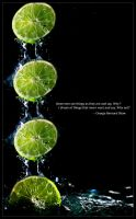 falling lime by ShaunyeWest