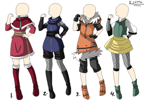 Adoptable Outfits Batch: CLOSED by itasasu2002