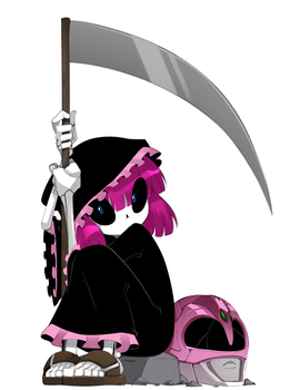 The Pink Reaper by bleedman