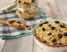 Blueberry and Coconut Granola by AHealthMatter