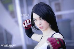 Tifa Stare by BeyondKryptic