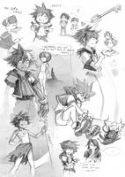 KH: Play and sketch part 2 by Anyarr