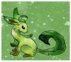 Leafeon by WhisperCatt