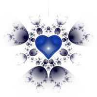 Blue Heart by cristy120377