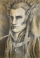 Thranduil by TheSilverWyrm