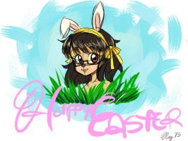 Happy Easter 2013 from Domi~! by XWorld-DOMInationX