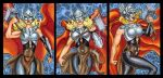 THOR PERSONAL SKETCH CARDS by AHochrein2010