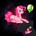 Party Like A Pony Tee On WeLoveFine by FeebyNeko