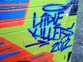 lady killers logo by PerthGraffScene